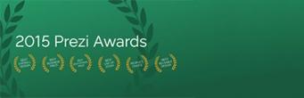Prezi Awards - 2015