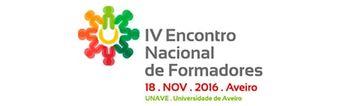 IV Encontro Nacional de Formadores - Tecnologias, Metodologias e Pessoas