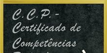 CCP ex-CAP - Certificado de Competências Pedagógicas